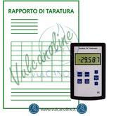Taratura misuratore cariche elettrostatiche