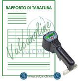 Taratura durometro Barcol