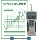 Taratura dinamometro