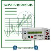 Taratura misuratore di rigidità dielettrica
