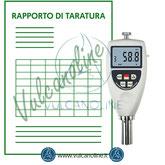 Taratura misuratore di profili