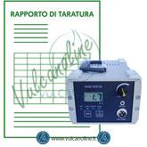 Taratura scintillografi, porosimetri, holiday detector, pinhole detector