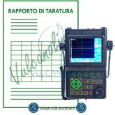Taratura eddy current, flaw detector, rilevatori di difetti