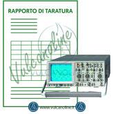 Taratura oscilloscopio