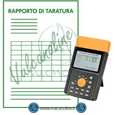 Taratura ratiometro per trasformatore