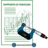 Taratura micrometro per filetti