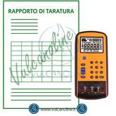 Taratura calibratore di processo