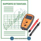Taratura misuratore di impedenza