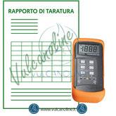 Taratura termometri, sonde, fornetti, calibratori