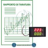 Taratura amperometro