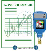 Taratura vuotometro