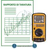 Taratura misuratore di isolamento
