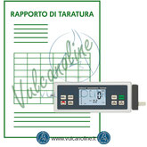 Taratura rugosimetro