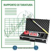 Taratura pinhole detector
