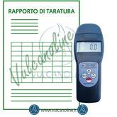 Taratura igrometri termoigrometri, datalogger, pluviometri, psicrometri