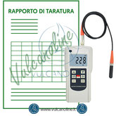 Taratura spessimetro per vernici e rivestimenti