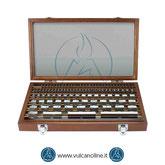 Blocchetti pianparalleli in acciaio 103pz - VLBPC103D