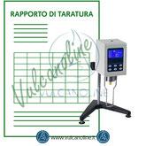 Taratura viscosimetro