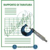 Taratura micrometro per esterni