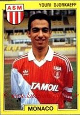 N° 145 - Youri DJORKAEFF (1991-92, Monaco > 1995-96, PSG)