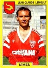 N° 195 - Jean-Claude LEMOULT (1976-86, PSG > 1991-92, Nîmes)