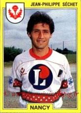 N° 165 - Jean-Philippe SECHET (1991-92, Nancy > 1994-95, PSG)