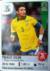 N° 038 - Thiago SILVA (2012-??, PSG > 2013, Brésil)