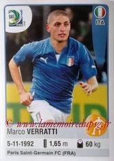 N° 123 - Marco VERRATTI (2012-??, PSG > 2013, Italie)