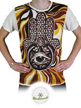 Sure Design (Color)  mit buntem Print, T-Shirt, Link