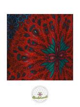 Haremshose, Yogahose, Pluderhose für Damen (Link zu einer Variante), mit Mandala Muster, rot, blau, Fairtrade