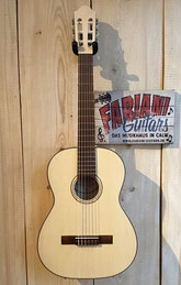 Pro Natura Silver Series 7/8 Kinderkonzetgitarre, 7/8 Seven Eight Size, Kindergitarre, Guitar for Kids - 10 Years and higher...