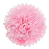 Pompom rosa rose