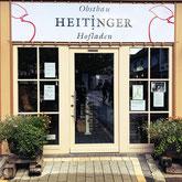 Der Obsthof Heiliger in Wasserburg ist seit vielen Jahren ein Familienbetrieb. 2014 wurde die Scheune, die ehemals als Torkelgebäude diente, zum Hofladen umgebaut.