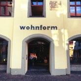 Das Einrichtungshaus Wohnform ist im Hohen Haus in Konstanz am Bodensee zu finden. Hochwertige Wohnaccessoires und Möbel.