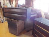 木地調整が終わった本体に黒下塗りを終え中塗りへと行程を進めます。