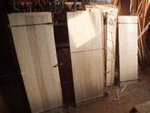 パーツの天板、棚板、側板を作りました。