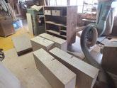本体の塗料を剥がし木地調整をして下塗り工程に移ります。