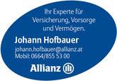 Allianz Johann Hofbauer