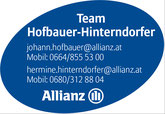 Allianz Hofbauer-HInterndorfer
