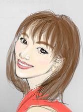 woman, smile