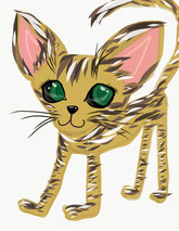 猫、Oriental Shorthair