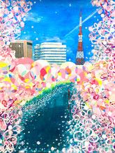 東京タワー 千鳥ヶ淵