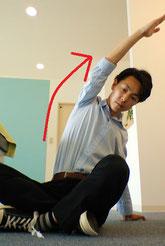 腕や手を伸ばした時に腰が痛い奈良県葛城市の女性