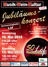 """""""Jubiläumskonzert"""" 2014"""