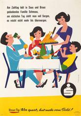 Werbung mit Humor. Plakate von Heinz Traimer.