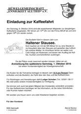 Kaffee-Fahrt 8.10.