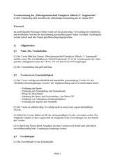 Satzung 1 von 8