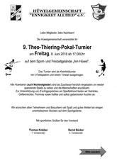 8.6. Frei 17 Uhr Thiering-Pokal