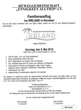 Irrland-Reise am 5. Mai ab 9 Uhr