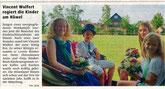 Vincent Wulfert ist neuer Kinderschützen-König am Hüwel (WN)